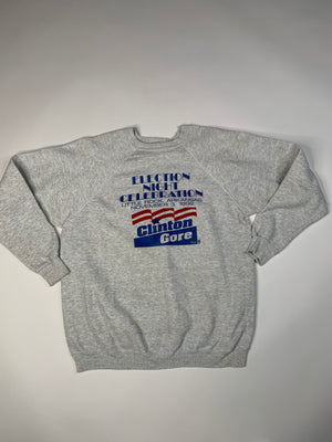 1992 Clinton Gore Sweatshirt - XL