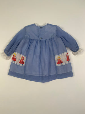 Baby 70's Dolly Dress - 12 Months