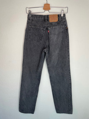 1980's Pinstriped Levi's 501 Jeans