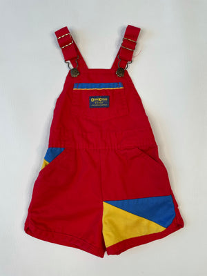 Red Osh Kosh Kiddo Overalls