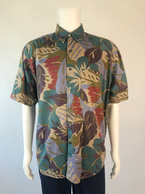 90's Earth Tones Vacation Shirt