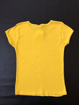 80's Yellow Diver Babydoll Tee