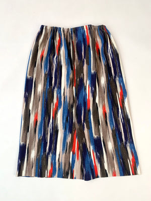Brushstrokes Knit Skirt