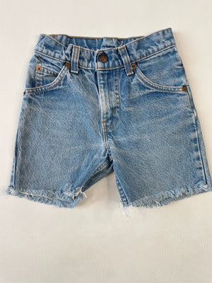 Levi's Kiddo Orange Tab Cut-Offs