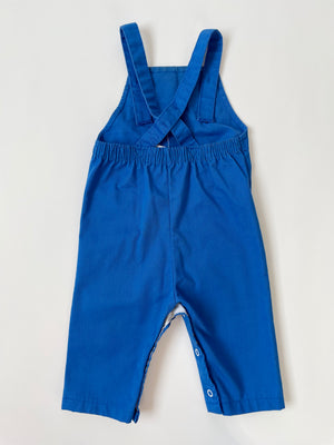 1980's Blue Kiddo Airplane Overalls