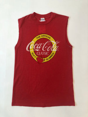 Thrashed 80's Red Coca-Cola Tee