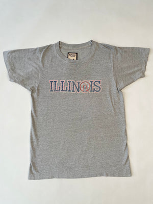 Super Soft & Thin 1980's Illinois Sports Tee