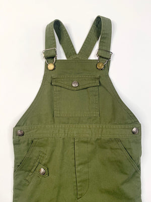 Kiddo Olive Overalls- 5T