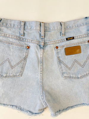 Light Wash Wrangler Cut-Offs