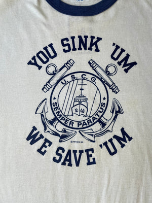 You Sink Um We Save Um Ringer Tee