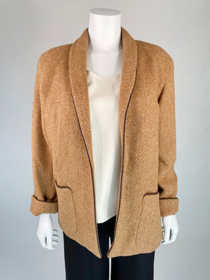 Calvin Klein Wool Shawl Collar Coat