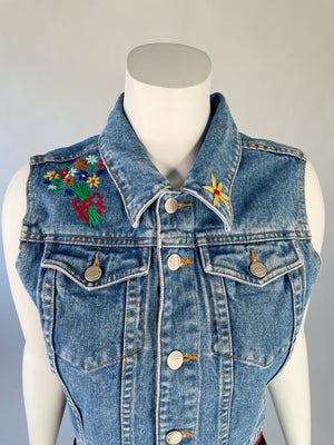 Y2K Pepe Jeans London Denim Vest