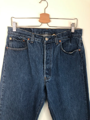 Classic Levi's Button-Fly 501 Jeans