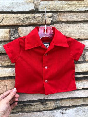 Kiddo Adorable Lil' Red Shirt - 6 M