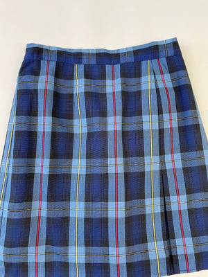 Plaid School Girl Skort