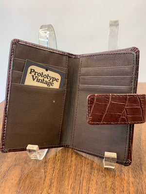 Rolf's Mock-Croc Leather Wallet