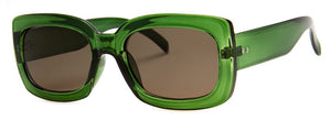 Green Glamourama Sunglasses