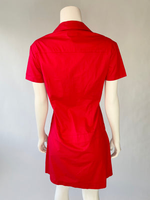 Y2K Red Dickies Dress