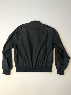 Black Zip-Up Jacket - M