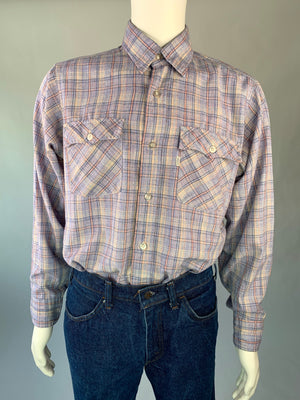 1970's Lilac & Pink Levi's Shirt