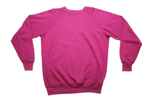 Worn-in Fuchsia Sweatshirt
