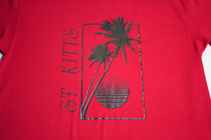 1987 St. Kitts Palm Tee