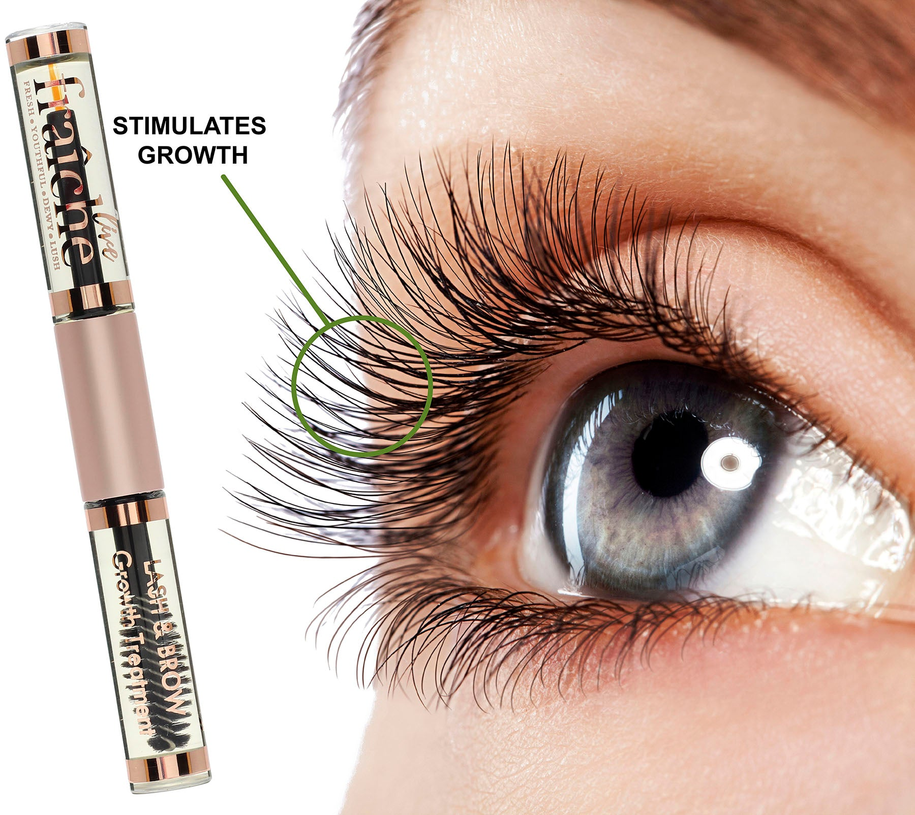 Organic Eyelash And Eyebrow Growth Serum Livefraiche