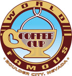 World Famous Coffee Cup
