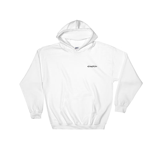 #SeeYouOnTheSand Simplicity Hooded Sweatshirt - White