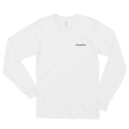 #SeeYouOnTheSand Simplicity Long-Sleeve Tshirt - White