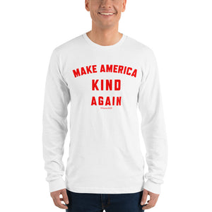 Maka America Kind Again Mens #Sharon2020 Long Sleeve T-shirt