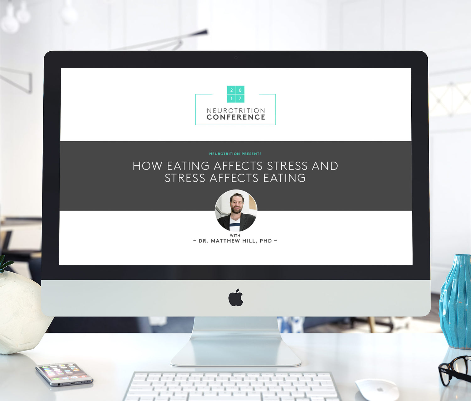 imac with How Eating Affects Stress And Stress Affects Eating video