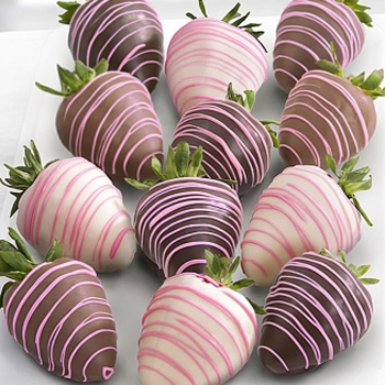 Drizzles Dipped Strawberries - D'Decorations Flower Shop | Floreria