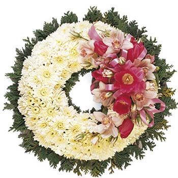 Memorial Wreath - D'Decorations Flower Shop | Floreria