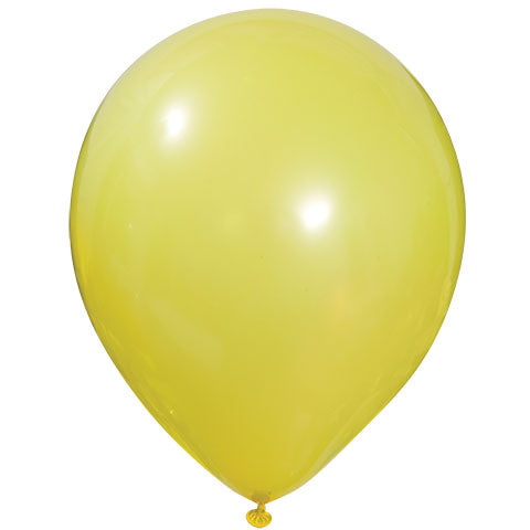 Solid Yellow Latex Balloon 12' - D'Decorations Flower Shop | Floreria