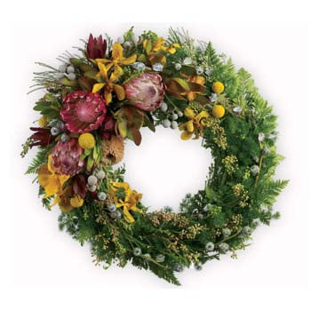 Natural Beauty Wreath - D'Decorations Flower Shop | Floreria