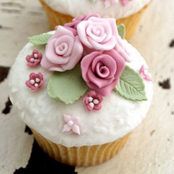 12 Dozen Rose Cupcakes - D'Decorations Flower Shop | Floreria