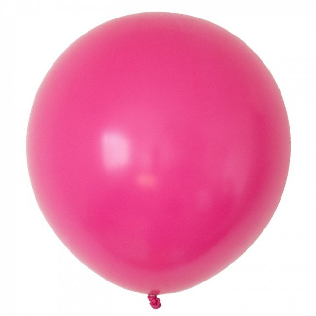 Solid Rose Pink Latex Balloon 12' - D'Decorations Flower Shop | Floreria