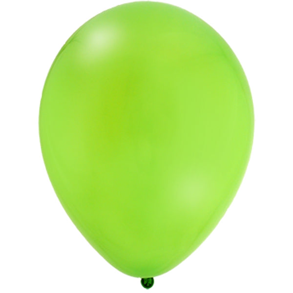 Solid Lime Green Latex Balloon 12' - D'Decorations Flower Shop | Floreria