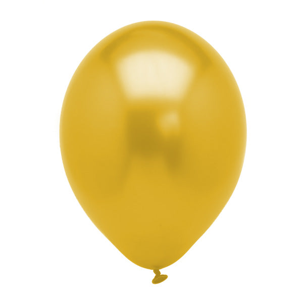 Solid Gold Latex Balloon 12' - D'Decorations Flower Shop | Floreria
