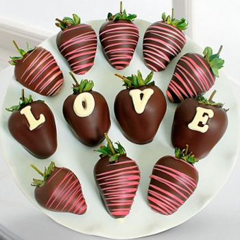 Chocolate Love Strawberries - D'Decorations Flower Shop | Floreria