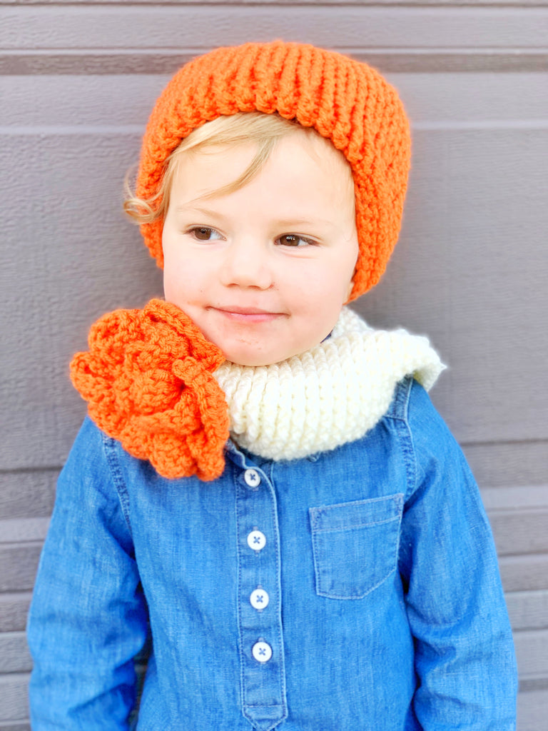 Beret and Cowl Set