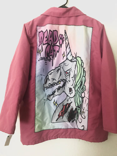 Zombie unicorn jacket