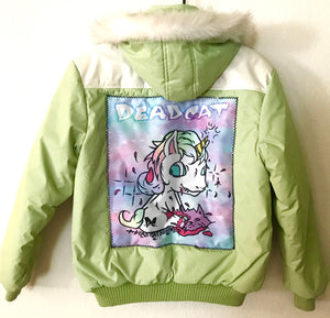 Baby Unicorn Mint Jacket