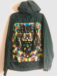 Tie die Deadcat windbreaker