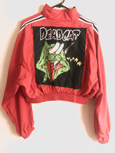 Bug eyed Deadcat crop windbreaker