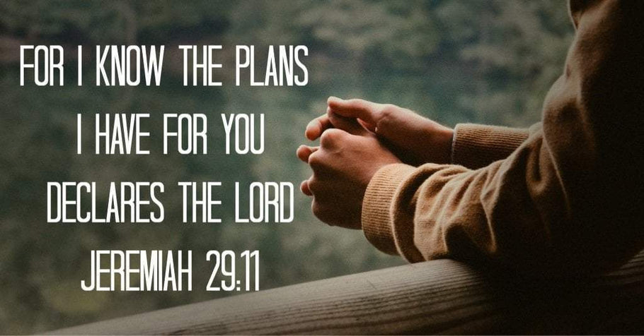 """For I Know The Plans..."" Jeremiah 29:11 Meaning"