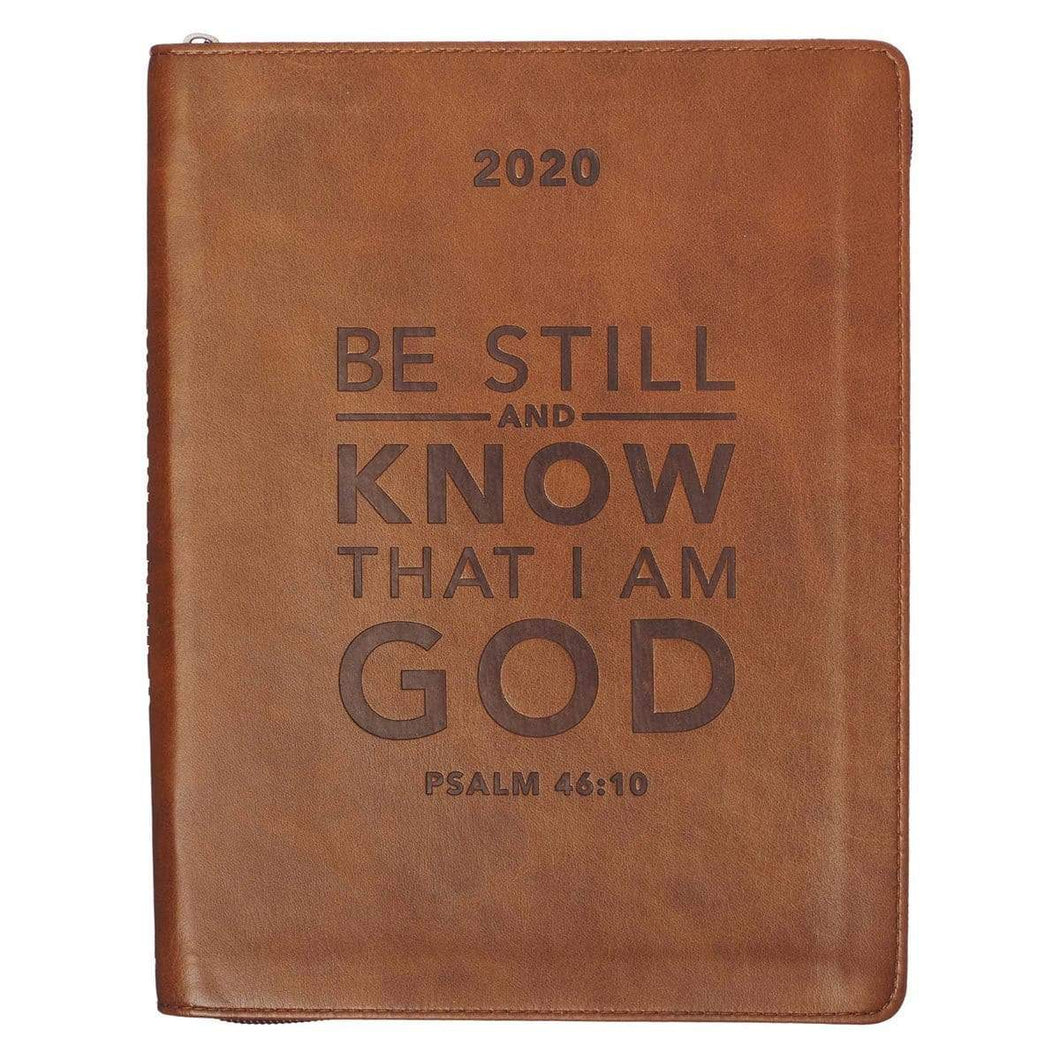 2020 Be Still And Know Daily Planner