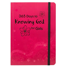 365 Days To Knowing God For Girls Daily Devotional
