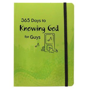 365 Days to Knowing God For Guys Daily Devotional